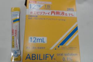 エビリファイ内用液0.1%