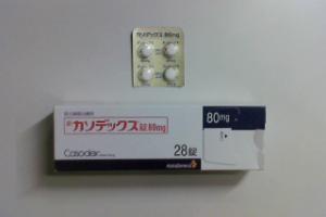カソデックス錠80mg