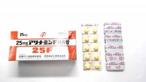 F 糖衣錠 アリナミン