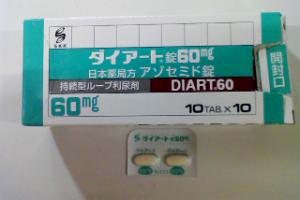 ダイアート錠60mg