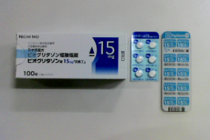 ピオグリタゾン錠15mg「日医工」