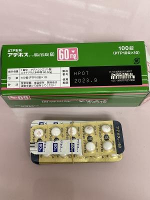 アデホスコーワ腸溶錠60
