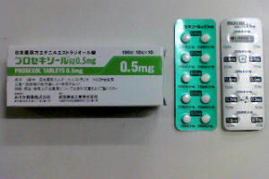プロセキソール錠0.5mg