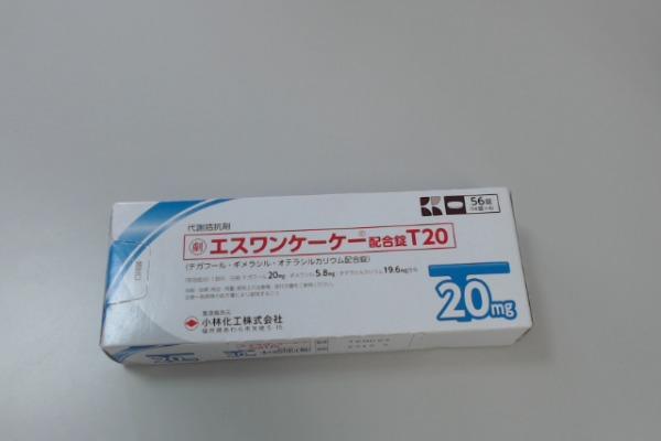 エスワンケーケー配合錠T20