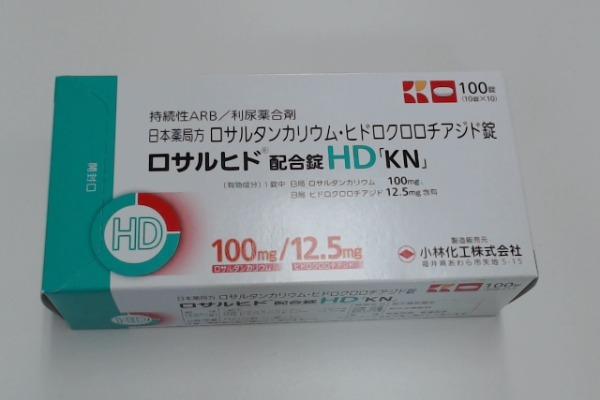 ロサルヒド配合錠HD「KN」